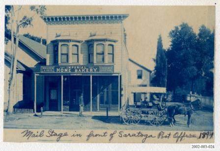 Saratoga Post Office - 1894