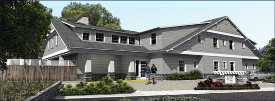 Palm Villas Saratoga Proposed Building