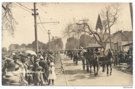 Saratoga Bloom Festival - 1912